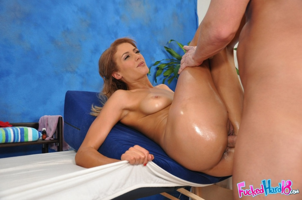 Charming Kari fucked hard in the ass on floore opinion