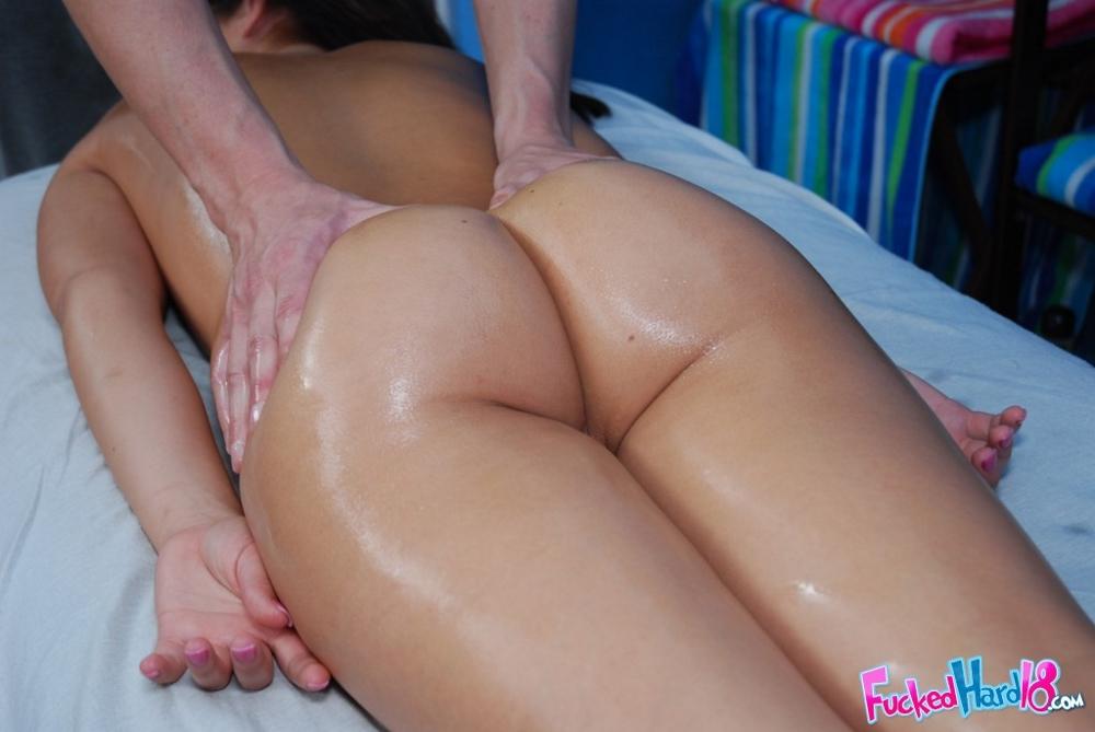 Massage rooms tight bodied blonde minx sucks and fucks masseurs big cock 6